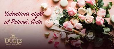 Valentine's Night At Prince's Gate Hotel