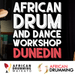 African Drum and Dance Full Day Workshop