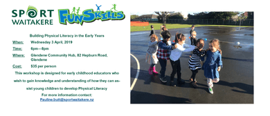 Building Physical Literacy in the Early Childhood Years: CANCELLED