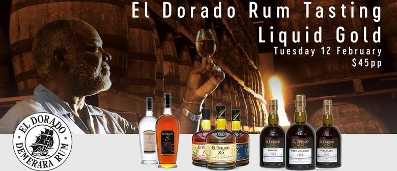 Liquid Gold - El Dorado Rum Tasting