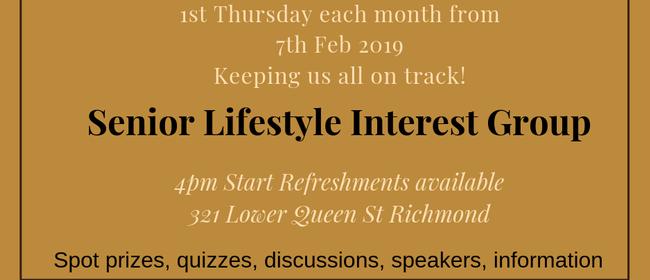 Senior Lifestyle Interest Group: CANCELLED