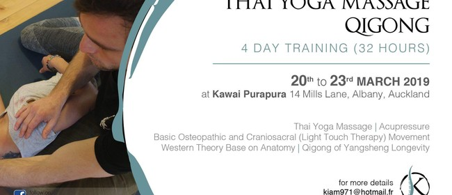 Thai Yoga Massage/Qigong 4 Days Training