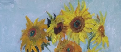 Paint and Wine Night: Sunflowers - Paintvine