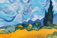 Image for event: Paint and Wine Night: Wheat Fields - Paintvine