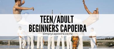 Teenager/Adult Beginner Capoeira Class: CANCELLED