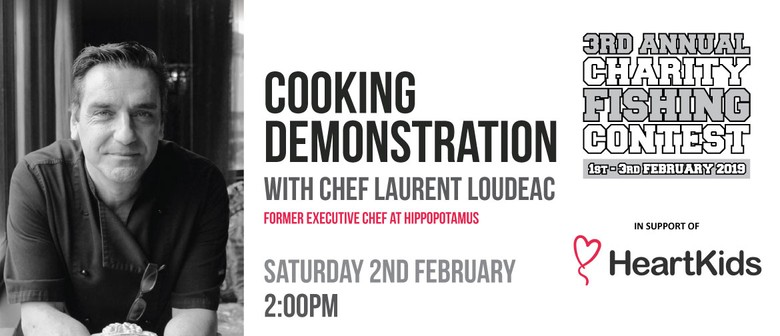 Free Cooking Demonstration with Chef Laurent Loudeac