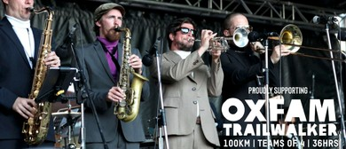 Lisa Tomlins & The Presidents Of Funk - Oxfam Fundraiser