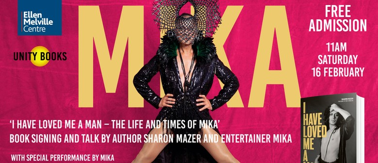 MIKA - Book Signing, Author talk and Performance