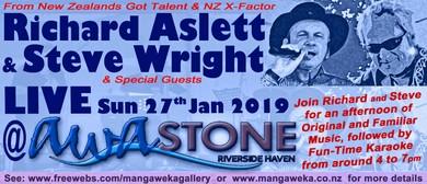 Richard Aslett & Steve Wright - Live Music, Fun & Karaoke
