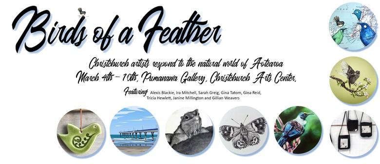 Birds of A Feather - Art Exhibiton