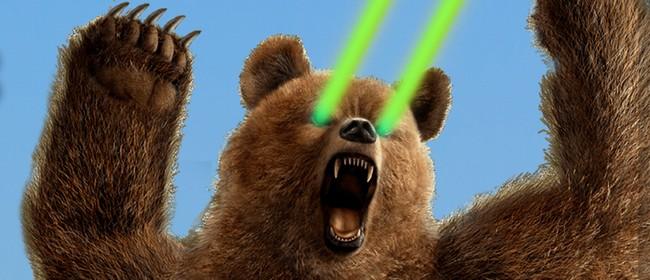 Laser Bear Takes The City: Remote, Plag Flag, SLAG, Bryce