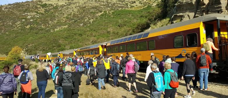 Taieri Gorge Rail Walk 2019 Dunedin Eventfinda