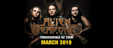 Alien Weaponry - New Zealand Tour
