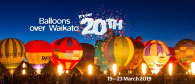 Balloons Over Waikato 2019