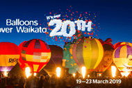 Image for event: Balloons Over Waikato 2019