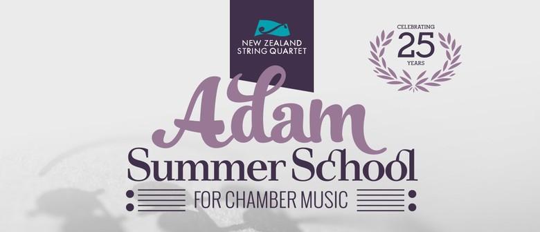 Finale Concerts 2019 Adam Summer School