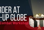 Image for event: Murder at Pop-up Globe: A stage combat workshop