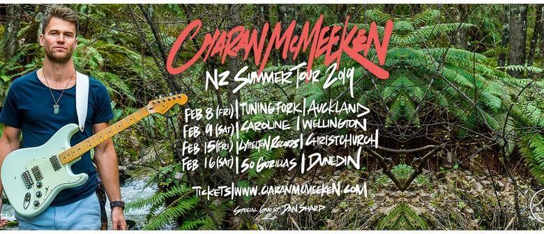 Ciaran McMeeken - Tidal Wave Summer Tour