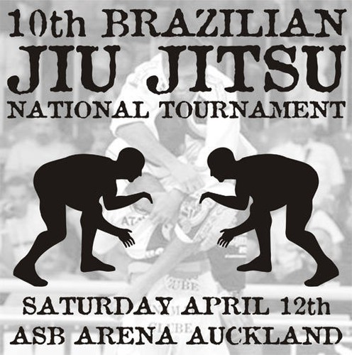 10th National Brazilian Jiu Jitsu Championship - Auckland