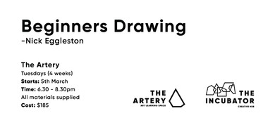 Beginners Drawing with Nick Eggleston