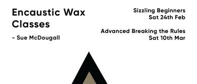 Sizzling Encaustic Wax - Beginners