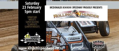 Kihikihi Speedway - Rolling Thunder