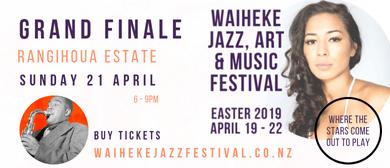 Waiheke Jazz, Art & Music Festival - Grand Finale