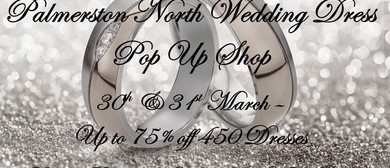 Palmerston North Wedding Dress Pop Up Shop