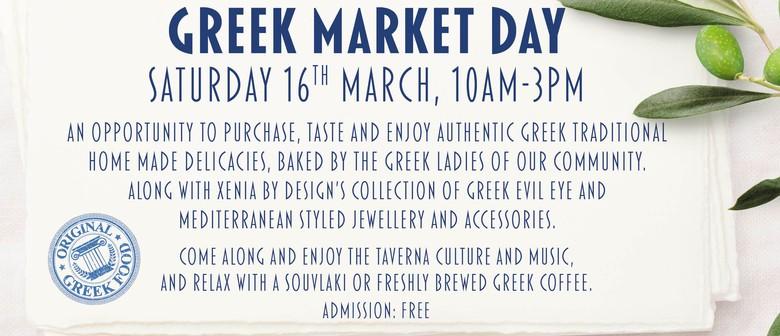 Greek Market Day