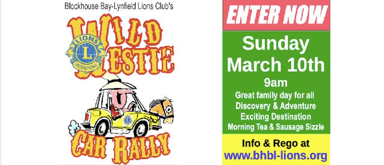 Lions Wild Westie Car Rally