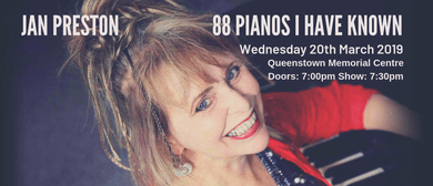Jan Preston - '88 Pianos I Have Known'