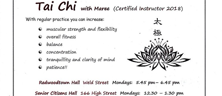 Tai Chi with Maree - Day Time and Evening Classes