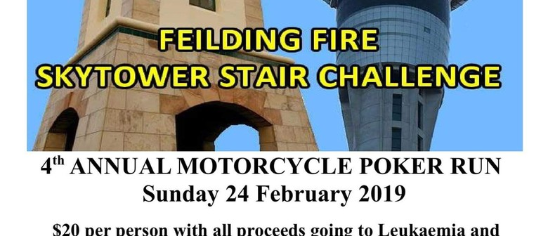 Feilding Fire Brigade Skytower Team - Poker Run