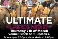 Image for event: Men of Steel - The Ultimate Ladies Night Out: CANCELLED