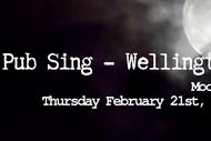 Image for event: Pub Sing Wellington - Moon 1