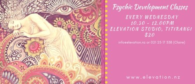Psychic Development Classes - Auckland - Eventfinda