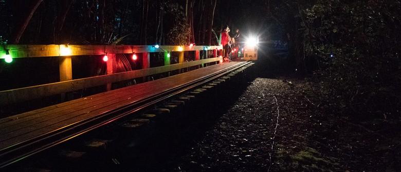 Lights of Autumn Night Trains