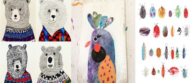 Tickle Me Paint with Jude Howker
