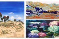 Image for event: Creative Acrylics with Catherine Mitchell