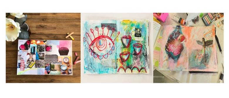 Art Journaling with Jude Howker