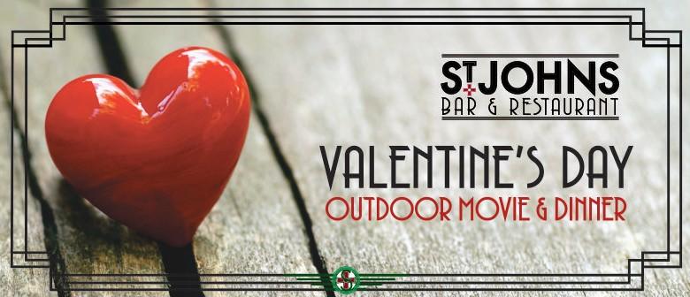Valentine's Day Outdoor Movie & Dinner