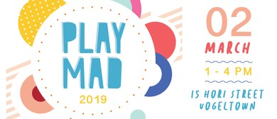 PLAYMAD - Play, Music and Dance Festival