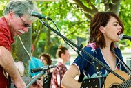 Image for event: Melissa & The Dr Play River Five Stags