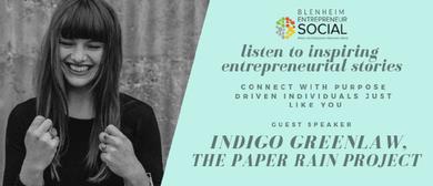 Entrepreneur Social - Indigo Greenlaw, The Paper Rain Projec