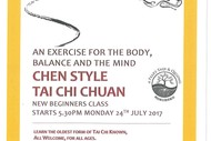 Image for event: Tai Chi Chuan-Chen Style