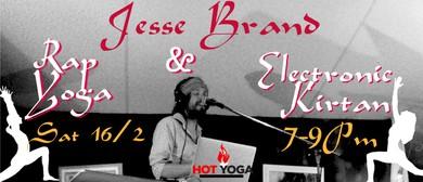 Rap Yoga & Electronic Dance Kirtan w/ Jesse Brand