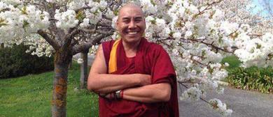Tibetan Monk Geshe Jampa Tharchin Meditation & Talk