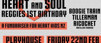 Heart and Soul Heart Kids Fundraiser & Reggie's 1st Birthday