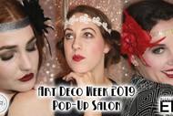 Art Deco Week - Pop Up Salon!