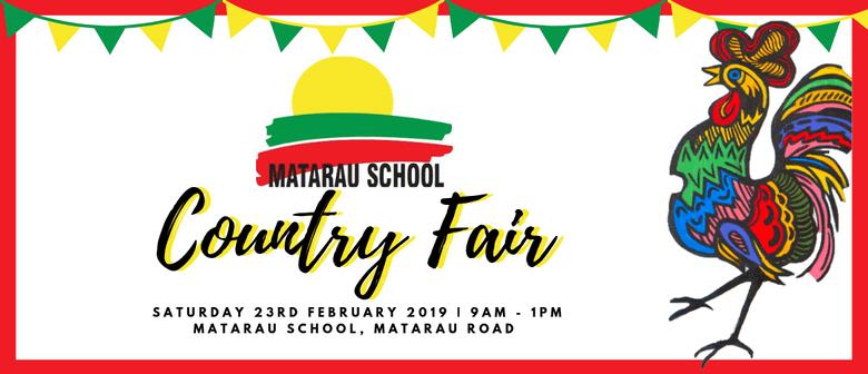 Matarau School Country Fair 2019